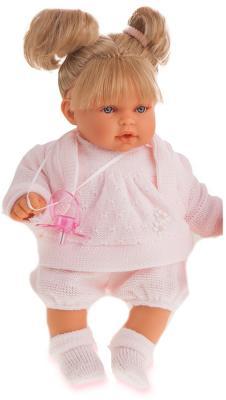 Кукла Munecas Antonio Juan Блондинка Лана 27 см плачущая 1112Bl кукла munecas antonio juan блондинка аделина 55 см 1821p