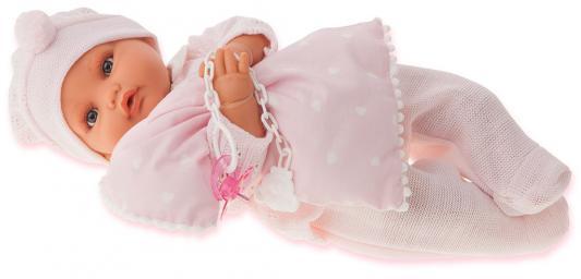 "Кукла Munecas Antonio Juan ""Марита"" 42 см плачущая в розовом 1670P"