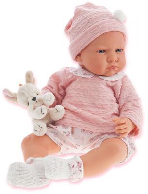 Кукла Munecas Antonio Juan Бернардита 52 см со звуком в розовом 1952P кукла munecas antonio juan соня в ярко розовом 37 см плачущая 1443v