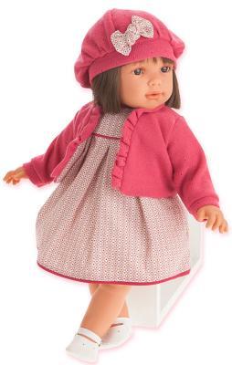 Кукла Munecas Antonio Juan Аделина в красном 55 см 1824R juan antonio кукла аделина в розовом juan antonio 55см