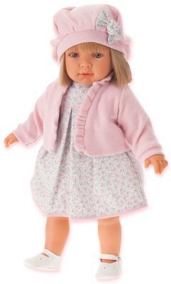 Кукла Munecas Antonio Juan Аделина в розовом 55 см 1823P juan antonio кукла аделина в розовом juan antonio 55см