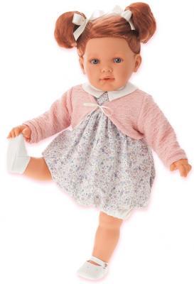 Кукла Munecas Antonio Juan Аделина рыжая 55 см 1822P munecas antonio juan munecas antonio juan кукла аделина блондинка 55 см