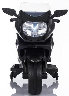 Мотоцикл Kids cars (одноместный электромобиль аккумуляторно-зарядный) KT316 Черный