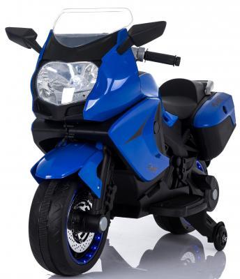 Мотоцикл Kids cars (одноместный электромобиль аккумуляторно-зарядный) KT316 Синий