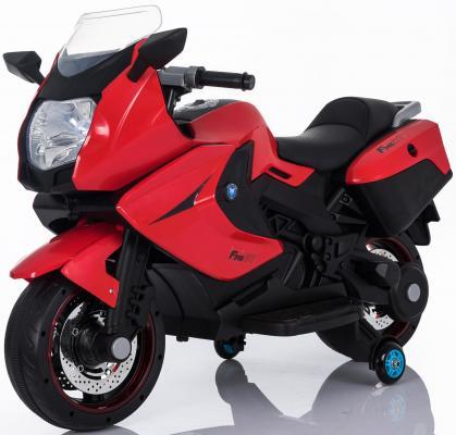Мотоцикл Kids cars (одноместный электромобиль аккумуляторно-зарядный) KT316 Красный cars galore