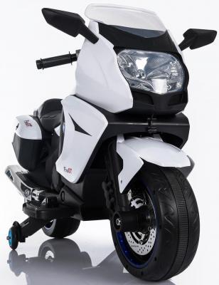 Мотоцикл Kids cars (одноместный электромобиль аккумуляторно-зарядный) KT316 Белый