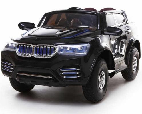 Электромобиль Kids cars (одноместный электромобиль, количество моторов: 2 шт. аккумуляторная батарея 2V7AH, пульт ДУ и ручное управление) KT6575P Черный