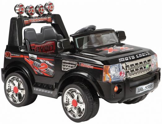 Электромобиль BELLA Джип (аккумуляторно-зарядный, двухместный, с пультом управления, цвет чёрный) JJ012A Чер
