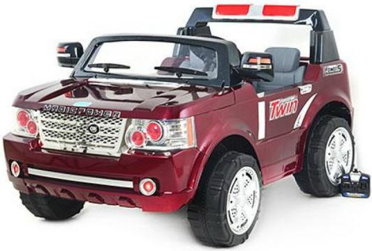 Электромобиль BELLA Джип (аккумуляторно-зарядный, с пультом управления) JJ205 Красный
