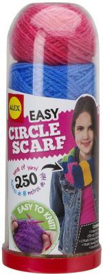 Набор для вязания Alex Круговой шарф от 8 лет 115C набор для вязания спицами alex модные вещи из пушистой пряжи