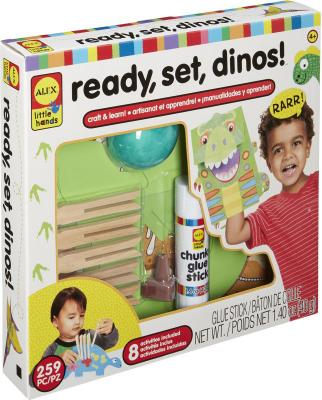 Набор для изготовления игрушек ALEX Динозавры от 4 лет 250020-3