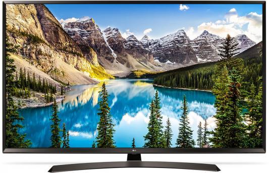 Телевизор LG 65UJ634V черный