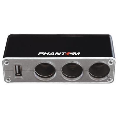 Разветвитель прикуривателя Phantom PH2151 880501