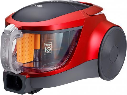 Пылесос LG VK76A09NTCR сухая уборка красный lg lg g360 красный 0 02гб 2 sim