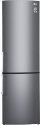 Холодильник LG GA-B499YLCZ серебристый холодильник lg ga b499zvsp серебристый