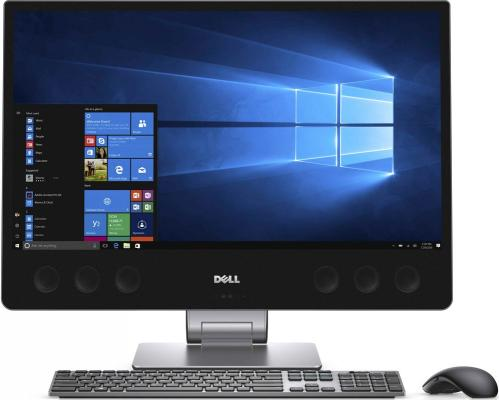 Моноблок 27 DELL XPS 7760 3840 x 2160 Multi Touch Intel Core i7-7700 16Gb SSD 512 Radeon RX 570 8192 Мб Windows 10 Home серебристый черный 7760-2223 ноутбук acer predator g9 793 72qz 17 3 3840x2160 intel core i7 7700hq 2tb 512 ssd 32gb nvidia geforce gtx 1070 8192 мб черный windows 10 home nh q1uer 005