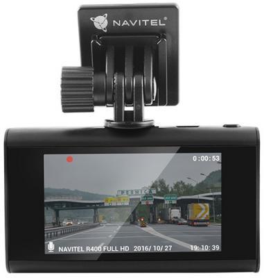 "Видеорегистратор Navitel R400 2.7"" 1920x1080 120° microSD microSDHC датчик удара USB"