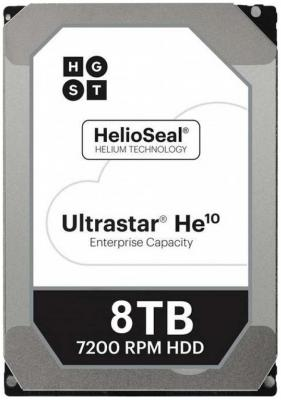 Жесткий диск 3.5 8Tb 7200rpm HGST Ultrastar HE10 SATAIII HUH721008ALE604 0F27457 жесткий диск hgst ultrastar he10 huh721008al5204 8тб hdd sas 3 0 3 5 [0f27358]