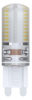 Лампа светодиодная диммируемая (10709) G9 4W 4500K капсульная белая LED-JCD-4W/NW/G9/CL/DIM SIZ03TR