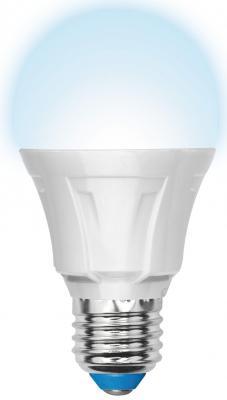 Лампа светодиодная шар Uniel Palazzo Dim LED-A60 E27 11W 4500K (UL-00000688) LED-A60-11W/NW/E27/FR/DIM PLP01WH uniel лампа светодиодная uniel диммируемая led a60 11w ww e27 fr dim plp01wh ul 00000687