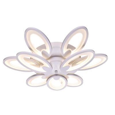 Потолочная светодиодная люстра с пультом ДУ Omnilux OML-45807-120 omnilux потолочная светодиодная люстра с пультом ду omnilux oml 45807 120
