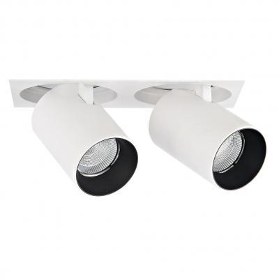 Встраиваемый светодиодный светильник Donolux DL18621/02SQ White Dim встраиваемый светодиодный светильник donolux dl18572 01ww white sq dim