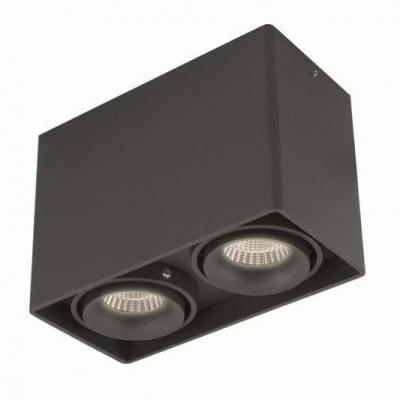 Потолочный светильник Donolux DL18611/02WW-SQ Shiny black накладной светильник donolux dl18611 01ww sq shiny black