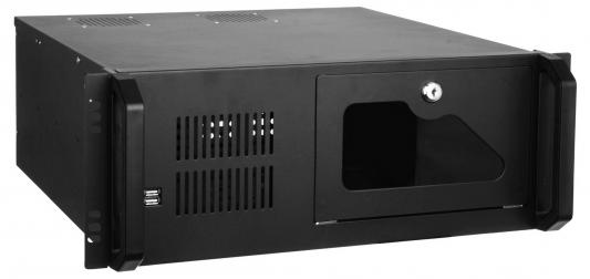 Серверный корпус 4U Exegate Pro 4U4020S Без БП чёрный EX254717RUS серверный корпус 4u exegate pro 4u4020s 700 вт чёрный ex244604rus