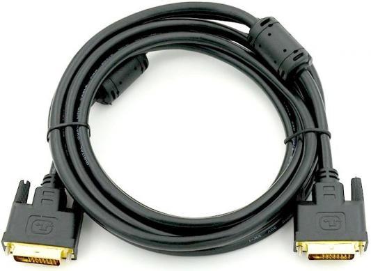 Кабель DVI-DVI 5.0м Exegate позолоченные контакты EX191096RUS