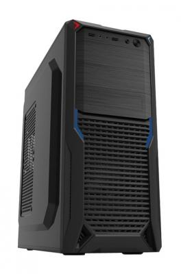 Корпус ATX PowerCool S2012BK 500 Вт чёрный корпус atx powercool s8813bk 500 вт чёрный
