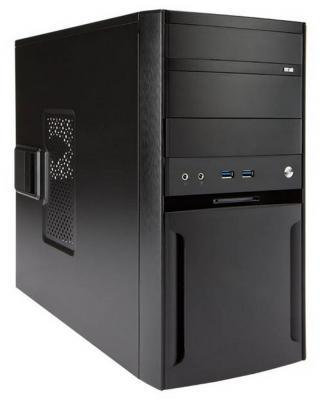 Корпус microATX InWin EFS059BL U3 500 Вт чёрный 6120654 корпус microatx inwin emr 033 450 вт чёрный