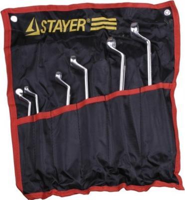 Набор ключей Stayer Мастер 6шт 27151-H6 набор ключей комбинированных stayer professional 2 271259 h19