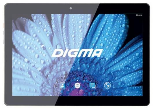 "Планшет Digma Plane 1512 3G 10"" 16Gb черный Wi-Fi 3G Bluetooth Android PS1120MG"