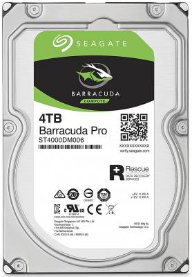 Жесткий диск 3.5 4Tb 7200rpm Seagate Barracuda Pro SATAIII ST4000DM006