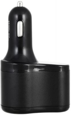 Разветвитель прикуривателя Wiiix TR-11U2 черный разветвитель розетки прикуривателя wiiix tr 01