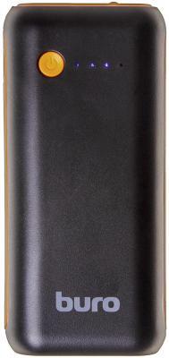Портативное зарядное устройство Buro RC-5000BO 5000мАч черный/оранжевый портативное зарядное устройство buro rc 7500a b 7500мач черный