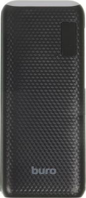 Портативное зарядное устройство Buro RC-12750B 12750мАч черный портативное зарядное устройство buro rc 7500a b 7500мач черный