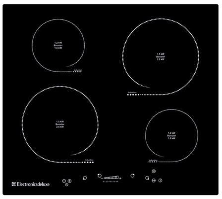 Варочная панель электрическая Electronicsdeluxe 605304.01 эви черный 2pcs car headlight bulb hi lo beam 12v 24v lumileds led chip auto fog lights lamp headlamp h1 h3 h4 h7 h8 h9 h11 9004 9005 9006