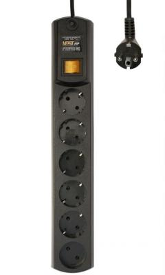 Сетевой фильтр MOST HPW 5М ЧЕР черный 6 розеток 5 м