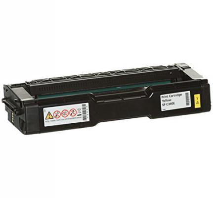 Картридж Ricoh SP C340E для Ricoh SP C340DN желтый 3800стр цветной лазерный принтер ricoh sp c340dn 916916