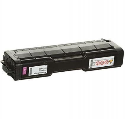Картридж Ricoh SP C340E для Ricoh SP C340DN пурпурный 3800стр цветной лазерный принтер ricoh sp c340dn 916916