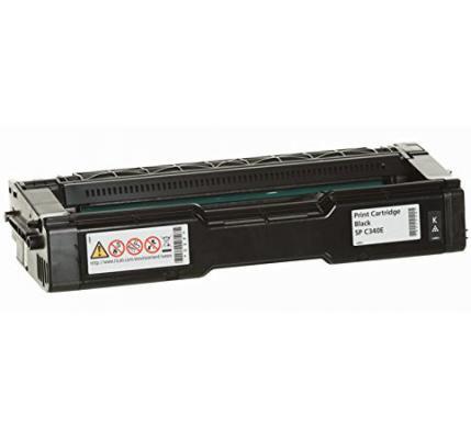 Картридж Ricoh SP C340E для Ricoh SP C340DN черный 3800стр цветной лазерный принтер ricoh sp c340dn 916916