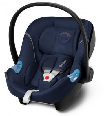 Автокресло Cybex Aton M (midnight blue) cybex aton q hawaii