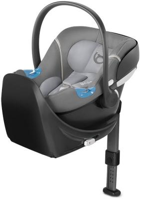 Автокресло Cybex Aton M + Base (manhattan grey) cybex автокресло juno 2 fix 9 18 кг cybex manhattan grey 2016