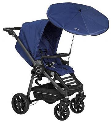 Зонтик от солнца на коляску Teutonia (6125/saphire) матрасик в коляску матрас teutonia seat cover цвет 6060