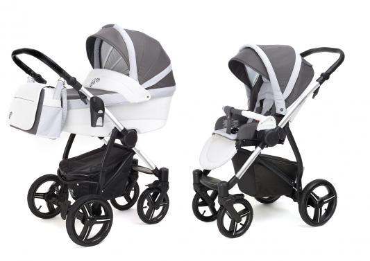 Коляска 2-в-1 Esspero Grand Newborn Lux (шасси chrome/royal light grey) esspero newborn lux шасси chrome light chek
