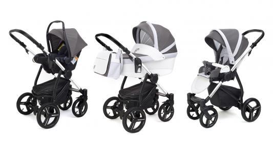 Коляска 3-в-1 Esspero Grand Newborn Lux (шасси chrome/royal light grey) esspero newborn lux шасси chrome light chek