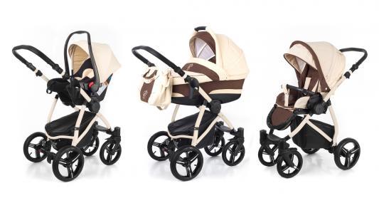 Коляска 3-в-1 Esspero Newborn Lux (шасси beige/beige brown)
