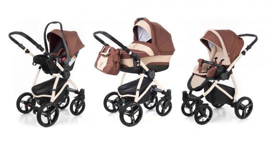 Коляска 3-в-1 Esspero Newborn Lux (шасси beige/brown beige)