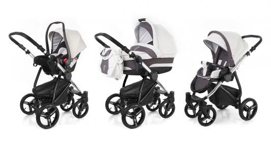 Коляска 3-в-1 Esspero Newborn Lux (шасси chrome/grey)
